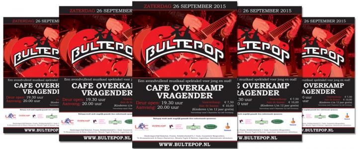 Voorverkoop Bultepop 2015 van start!